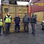 Napoli, sequestrate 8 tonnellate di rifiuti speciali diretti in Africa