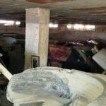 Striano, scoperto un deposito di auto rubate nel sotterraneo di un edificio