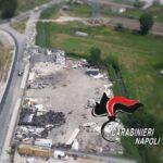 Volla, i carabinieri scoprono discarica abusiva di 4mila metri quadri: denunciata 51enne