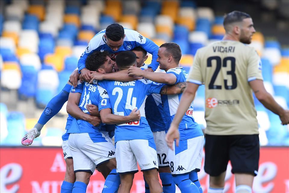 Napoli, quinta vittoria consecutiva ma l'Atalanta è ancora lontana