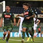 Si riparte alla grande, il Napoli espugna il Bentegodi, Verona battuto 2-0