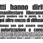 A Napoli giornalisti boicottati. In molti hanno dimenticato l'articolo 21 della Costituzione