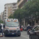 Vomero, scontro tra due scooter: un ferito