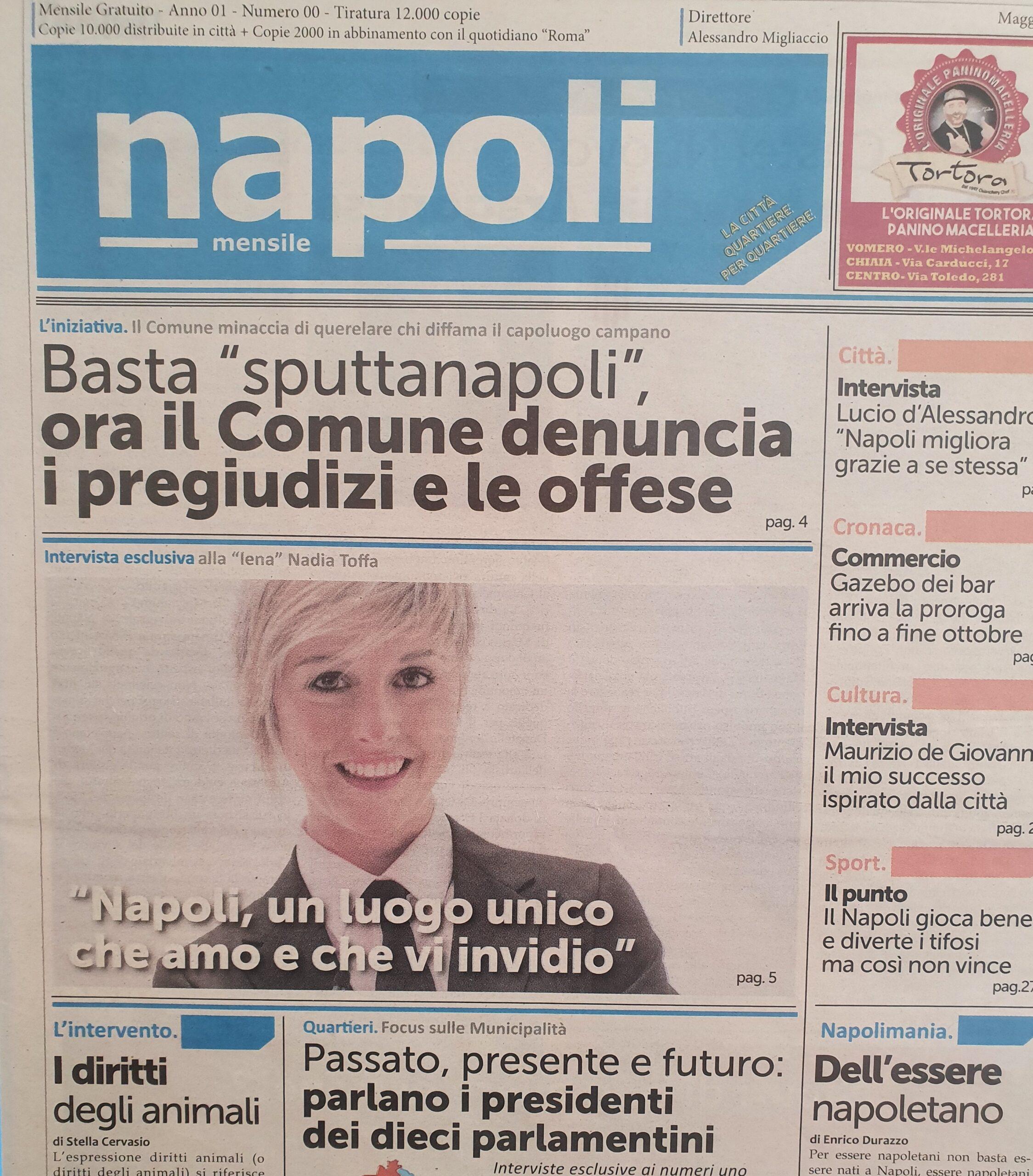 """Oggi Nadia Toffa avrebbe 41 anni. Quando al nostro giornale disse """"Amo i napoletani"""""""
