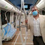 """Linea 1, i nuovi treni: sicurezza e comfort. De Magistris: """"Una svolta per la mobilità"""""""