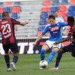 Bologna - Napoli 1-1: un punto guadagnato e con poco merito…