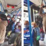 Bus pieni e ko, l'ira dei passeggeri. Autista soccorso dal 118