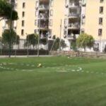 Scampia, riaperti i due campetti di calcio a 5 nel Parco Corto Maltese