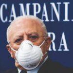 """Nuovo dpcm, De Luca: """"Linea poco efficace e scelte sempre ritardate"""""""
