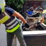 Ambiente, maxi sequestro nel nolano: 65 tonnellate di rifiuti abbandonati