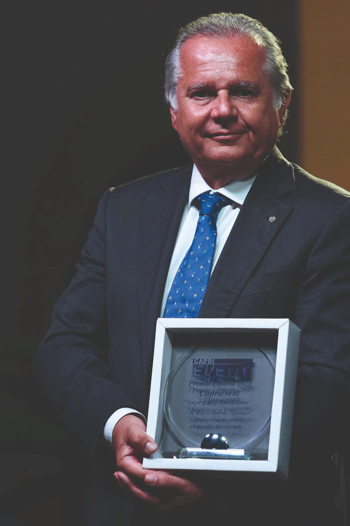 Al cavaliere Salvio Zungri il Premio Liburia 2020