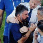 """Nervosismo al San Paolo, Gattuso sente la parola """"Terroni"""" e scatta contro la panchina laziale"""