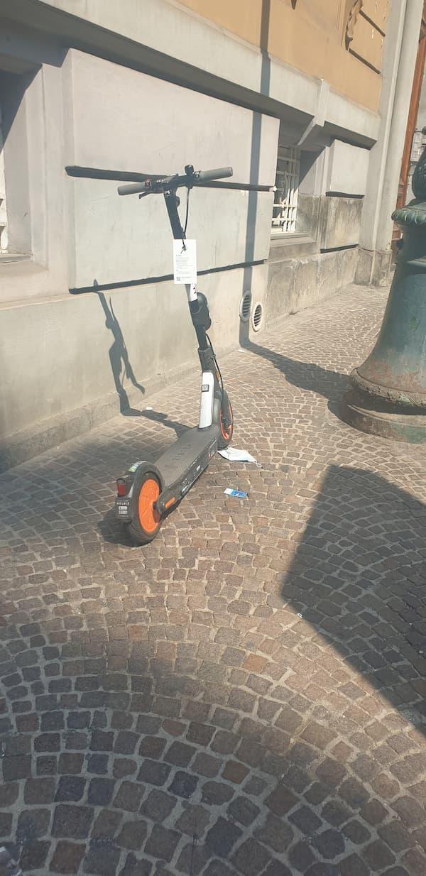 I monopattini rischiano di fare la fine delle bike