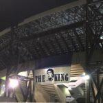 (Foto) Luci accese al San Paolo per Maradona