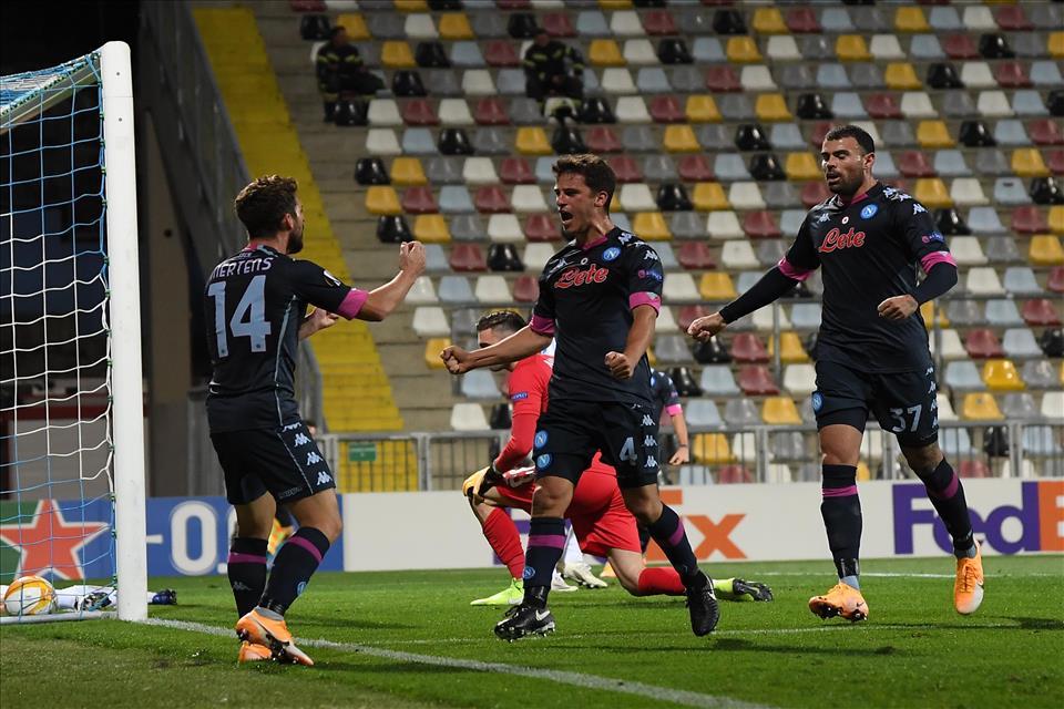 Rijeka-Napoli: gli azzurri vincono in rimonta sui croati una partita non semplice che finisce 1 a 2