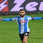 Secondo poker di fila in campionato, Crotone-Napoli 0-4 ad aprire le marcature una perla di Insigne