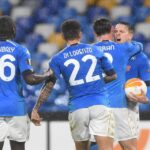 Napoli ai sedicesimi di Europa League, allo stadio Diego Armando Maradona gli azzurri sfiorano anche la vittoria, ma alla fine è 1-1