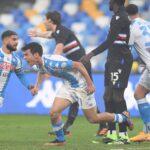 Napoli batte Sampdoria 2-1 in rimonta, prima vittoria nello stadio Diego Armando Maradona