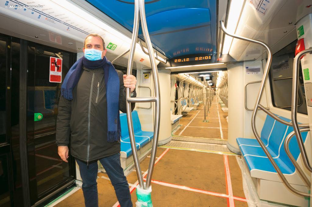Linea 1, collaudo nuovi treni: da febbraio in circolazione