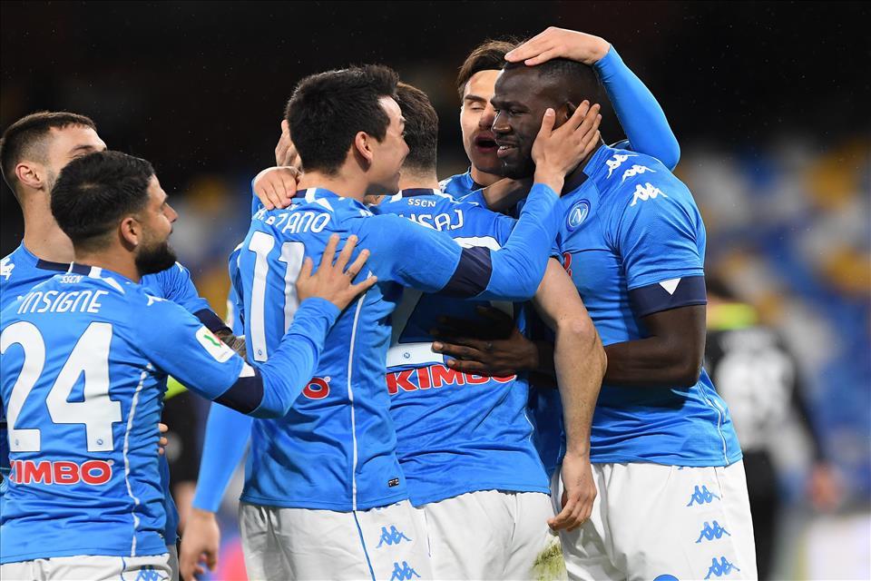 Coppa Italia: Napoli in semifinale, battuto lo Spezia 4-2