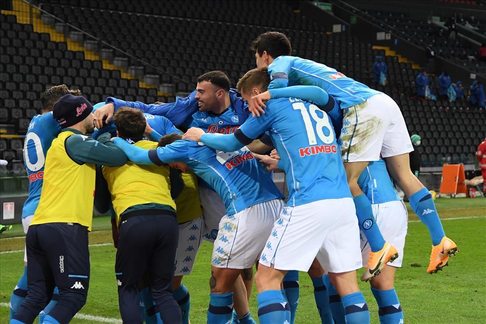All'improvviso Bakayoko, gol vittoria del francese al 90esimo che rilancia gli azzurri, Udinese – Napoli finisce 1-2