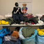 Napoli, San Lorenzo: sequestrato laboratorio di capi contraffatti