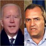 De Magistris, gli auguri al presidente Biden
