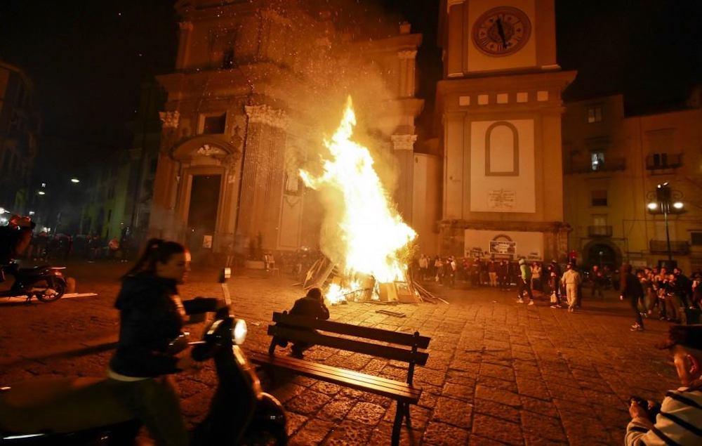"""Sant'Antonio Abate day senza """"fuochi"""". Cippo simbolico anti-pandemia"""