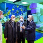 Pascale, inaugurata la Radioterapia dedicata ai bambini che parla la lingua di Nemo