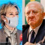 """Vaccini in base al Pil, De Luca contro Moratti: """"Siamo a un passo dalla barbarie"""""""