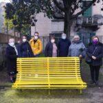 A Napoli la prima panchina gialla contro bullismo e cyberbullismo