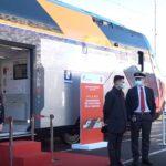 (Video) Trasporti, arrivato il secondo treno Rock di Trenitalia per la Campania