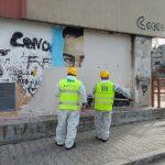 Ponticelli e Montecalvario: rimozione di murales, altarini e manufatti abusivi