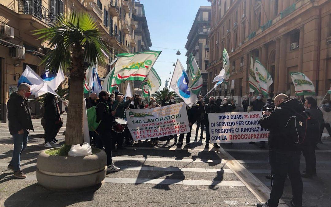Biglietti Unico, la protesta di Giraservice