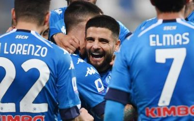 Insigne trascina il Napoli contro il Bologna