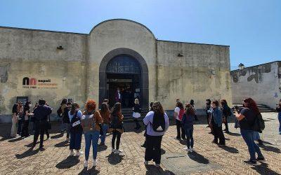 Napoli, lezioni al Castello per gli studenti dell'Accademia di Belle Arti