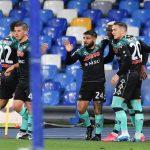 Napoli: mancato l'aggancio alla Juve, con la capolista finisce 1-1