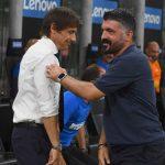 Napoli-Inter: Conte-Gattuso, una sfida nella sfida