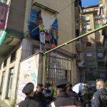 Napoli, rimosso un murale in Via Ferrante Imparato