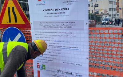 Arenella, iniziati i lavori in via Giacinto Gigante