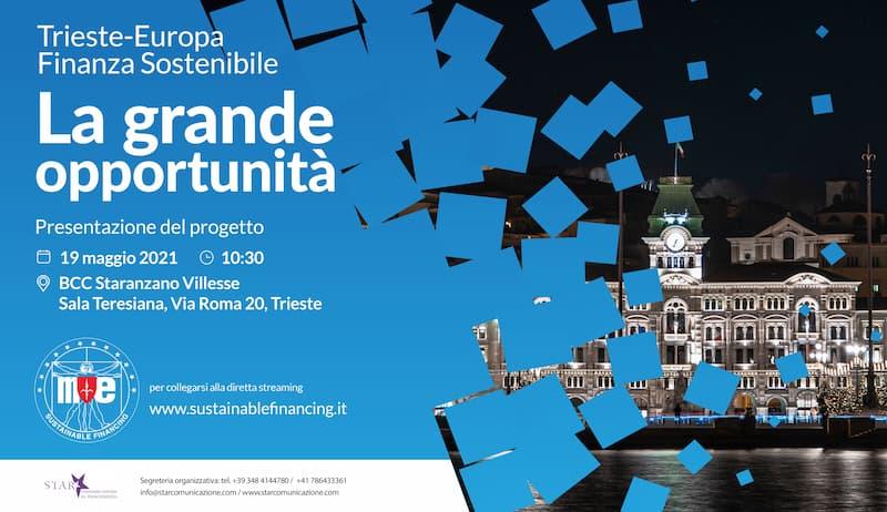 Finanza sostenibile, la sfida di Trieste