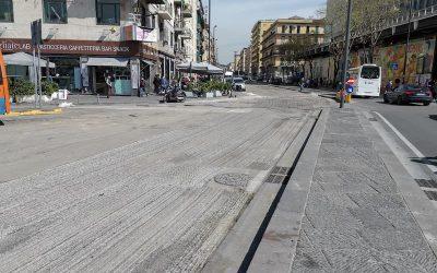 Napoli, programmati i lavori di pavimentazione tra piazza Garibaldi e corso Meridionale
