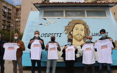 Napoli, via dell'Erba: inaugurata l'opera di creatività urbana dedicata a Mario Paciolla