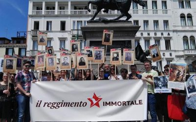 """Reggimento Immortale"" in Italia, domani la marcia on line"