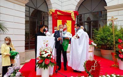 Il Cav. Salvio Zungri dona aspiramuchi e mascherine all'ospedale Fatebenefratelli di Benevento