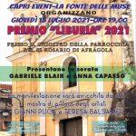 Premio Liburia 2021, questa sera ad Afragola la cerimonia annuale