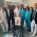 Al Cardarelli di Napoli le carrozzelle ortopediche donate da Zungri e Ascione
