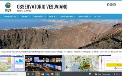 Tutto sui vulcani della Campania nel nuovo sito dell'Osservatorio